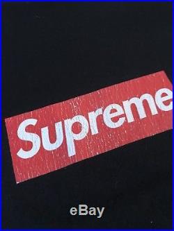 100% Authentic Supreme 20th Anniversary Box Logo Black Red L