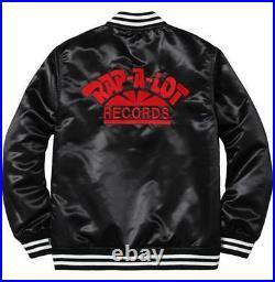 100% Authentic Supreme X Rap-A-Lot Records Satin Club Jacket box logo