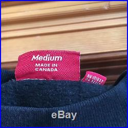 100% authentic Supreme Purple/Black Box Logo Crewneck M olive hoodie cdg #PP