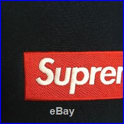 100% authentic Supreme Red/Navy Box Logo Hoodie M blue cdg #PP