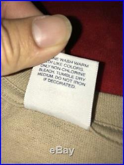 100% authentic Supreme Tan box logo T shirt Size Large paris japan brown RARE