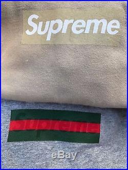 100% authentic Supreme Tan box logo T shirt Size Large paris shibuya LV japan