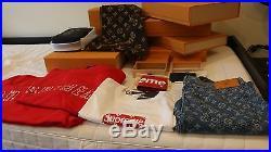 100% authentic guaranteed Louis Vuitton Supreme Box Logo tee T-Shirt Sz XL