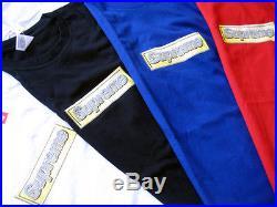 13SS Supreme Bling Box Logo Tee Blue Red White Black Grey M L XL Yankees