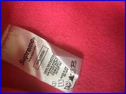 17FW Supreme Box Logo Size X-Large PINK Hoodie