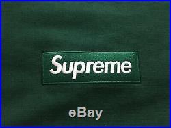 18FW Supreme Box Logo Crewneck Size X-Large Green