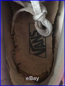 1996 Supreme Vans Old Skool Camo Shoes Rare Box Logo Bogo 90s Collector