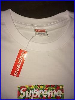 2002 Bape Supreme Box Logo T-Shirt M New A Bathing Ape Psyche Rare Camo