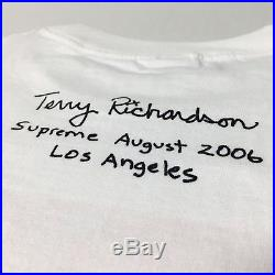 2006 Supreme X Terry Richardson Girl With Deck tee box logo bogo hoodie 1of80