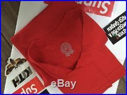 2014 Supreme Men's T-Shirt Box Logo Deadstock Retro Vintage Hat 20th Anniversary