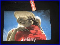 2015 F/w Supreme Cdg Box Logo E. T Et Hooded Sweatshirt Pullover Hoodie S Small