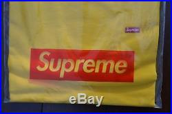2015 SS15 Supreme Small Box Logo Tee Sz L Yellow CDG PCL