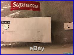 2016 Supreme Box Logo Hooded Sweatshirt Size Large L