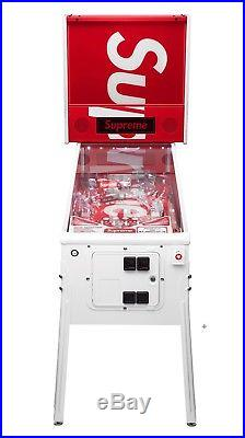 2018 SS18 Supreme Stern Pinball Machine Extremely Limited Red Box Logo Rare