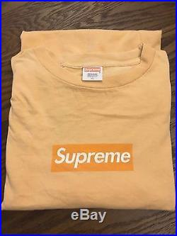 3 x size XL Rare supreme box logo tee free a bathing ape tee Pre owned limited