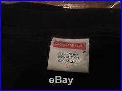 AUTHENTIC Supreme X Louis Vuitton Box Logo Tee Shirt