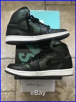 Air Jordan 1 Nike SB Craig Stecyk Size 10.5 Used Supreme Box Logo Red Black