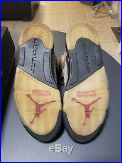 Air Jordan Retro 5 Supreme Desert Camo Size 10 Box Logo Union Travis Scott