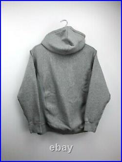 Authentic Supreme Box Logo Hoodie Grey Medium Mens Hooded Top