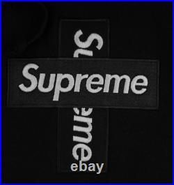 Authentic Supreme Cross Box Logo Hoodie Size S