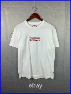 Authentic Supreme x Takashi Murakami 2020 Box Logo Tee T-shirt Size M