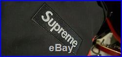 Authentic fw16 Supreme Black on Black Box Logo Hoodie (Size Large)