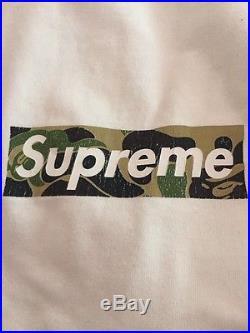 Bape X Supreme Box Logo Tee