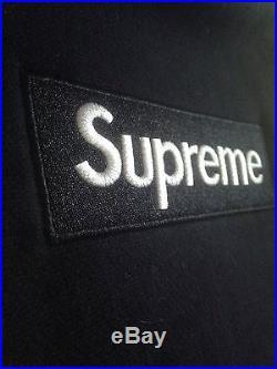Black Supreme Box Logo Hoodie XL