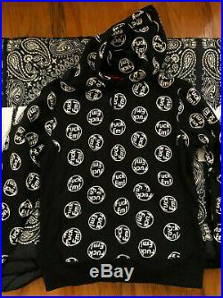 Brand New Supreme Hoodie Large Black Fuck'em Box Logo F/w14