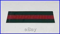 Brand New Supreme New York Gucci Green Box Logo Sticker Rare Vintage LV Grip CDG