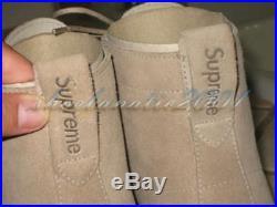 Clarks Original Supreme Mali Sand Suede 8 Boot Blazer Box Logo Chelsa Fashion
