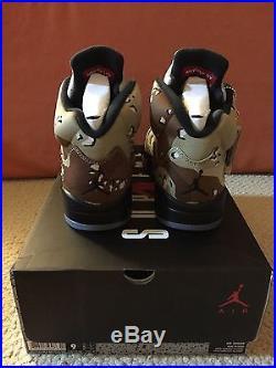 Ds Fw 15 Nike Air Jordan Supreme V 5 Desert Camo 9 Retro Cement Yeezy Box Logo
