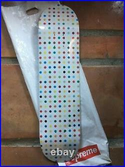 Damien Hirst Supreme NYC Skateboard Deck Spot Small Dot #1 Box Logo 2009