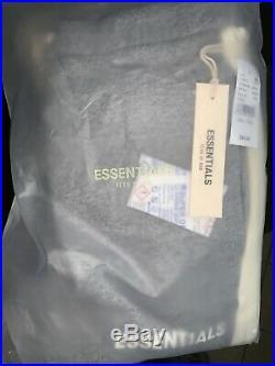 FOG Fear of God Essentials Side Stripe Sweatpants Jogger Small Supreme Box Logo