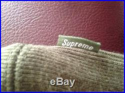 FW11 Supreme Box Logo Olive Hoodie L