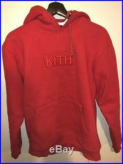 KITH CLASSIC LOGO Box Logo-BOGO Red Size Medium Supreme Fw Ss 12 13 14 15