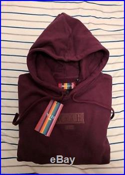 Kith x Vogue Box Logo Hoodie sweatshirt Prune Purple Small Medium large