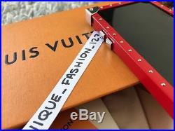 LOUIS VUITTON SUPREME LV EYE TRUNK PHONE CASE RED BOX LOGO MONOGRAM for iPhone 7