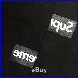 #Large# Supreme x CDG Split Box Logo Hoodie