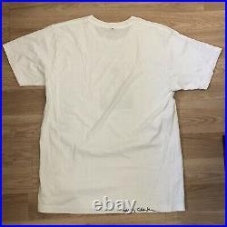 Larry Clark Jonathan Velasquez Kids T Shirt M SIGNED Supreme Box Logo Tulsa