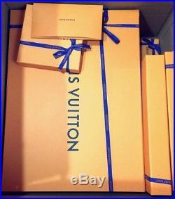 Louis Vuitton/Supreme Box Logo Tee monogram Tee-Shirt Size L NEW BOGO