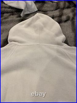 Louis Vuitton Supreme Monogram Box Logo Hoodie White XL ECC-M08 EXTREMELY RARE