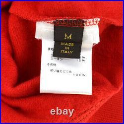 Louis Vuitton X Supreme Monogram Box Logo Hoodie Red White #M G03411e