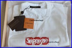 Louis Vuitton x Supreme Monogram Box Logo T-Shirt 3L XXL 2x-Large Sold out