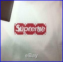 Louis Vuitton x Supreme Monogram T shirt Size XL Box Logo Tee Never Used 17AM