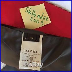 Louis Vuitton x Supreme Red Leather Monogram Jacket M 48 Rare Box Logo PE bomber
