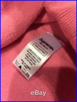 MEDIUM Supreme Pink Box Logo Crewneck