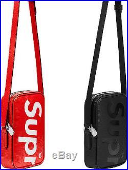 NEW Shoulder Bag Louis Vuitton x Supreme Danube Epi PM Cross Body Tote Box logo