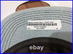 NEW Supreme Denim Washed Chino Twill Camp Cap 2017 SS17 Hat Jean Box Logo