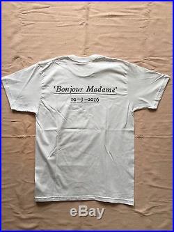 Nwot Supreme Paris Opening Bonjour Madame Box Logo T Shirt L